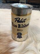 Orig Pbr Pabst Blue Ribbon Beer Can Keglined Rare Beauty
