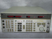 Hp 8662a Synthesized Signal Generator