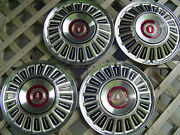 4 Vintage1967 68 69 70 71 72 Ford Galaxie Ltd Pickup Truck Hubcaps Wheel Covers