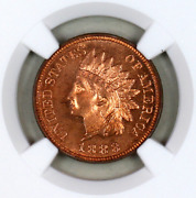 1888 Pf64 Rb Ngc Indian Head Penny Premium Quality Proof Example