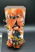 Department 56 Glitterville Which Treat Is Witch Halloween Ornament 8 Figure