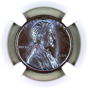 1924-d Ms63 Bn Ngc Lincoln Wheat Penny Registry Quality Collection