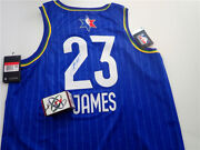 2020 Nba All-star Game Lebron James Autographs All-star Jersey Without Certifica