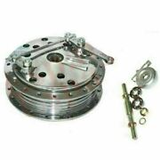 Twin Leading Shoe 7and039and039 Front Brake Drum Hub Assey Fit For Royal Enfield Norton