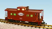 Usa Trains G Scale R12166 New York Central - Brown Center Cupola Caboose