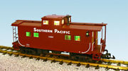 Usa Trains G Scale R12170 Southern Pacific - Brown/orange Center Cupola Caboose