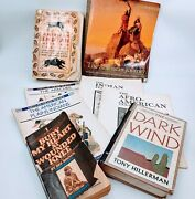 Native American Indian History And Culture Lot Of 9 Books. Pre-owned