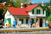 Piko G Scale 62029 Blue Creek Valley Station, Building Kit G-scale