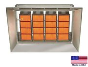 Ceramic Infrared Heater Commercial/industrial - Natural Gas Fired - 140000 Btu