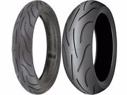 Michelin Pilot Power 190/50-17 120/70-17 Sport Motorcycle Tires Radial Combo Set