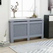 New Chelsea Radiator Covers Wooden Grill Slatted Mdf Furniture White Sizes Us