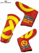 Scotty Cameron 2020 Hot Head Harry Tour Only-blade Putter Cover Red/yellow Rare