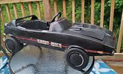 Vintage Coleco 1982 Tv Show Knght Rider Kitt Pedal Car International Shipping