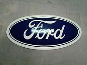 Porcelain Ford Enamel Sign Size 20 X 40 Inches Double Sided