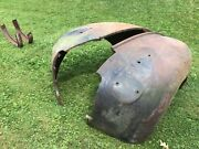 39-46 Chevy Truck Front Fenders Good Condition With Mounting Holes Rat Hot Rod