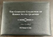 The Complete Collection Of 25 Barber Silver Quarters 1892-1916 Liberty Head