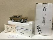 Danbury Mint 1955 Chevy Nomad 24kt Gold Diecast 124 Rare Free Shipping