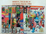 What If... S 22, 23, 24, 25, 26, 27, 28, 34 [marvel, 1980-81]