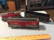 Marx Pacemaker Freight Service Nyc Freight Car 174580 O Scale And 2 Others