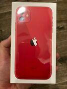Apple Iphone 11 Red - 64gb Total Wireless/straight Talk - Brand New Sealed