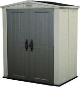 Keter Factor 6x3 Outdoor Storage Shed Kit-perfect To Store Patio Furniture, Gard