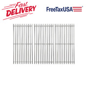 Stainless Steel Cooking Grid Grates 16 15/16 3-pack For Charbroil Master Chef