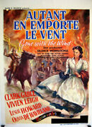 Gone With The Wind / Clark Gable / 1939 / Victor Fleming / Movie Poster/71