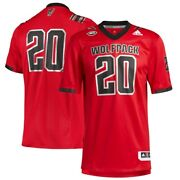 Nc State Wolfpack Premier Strategy Jersey Adidas Adult L And Xl-nwt-retail120