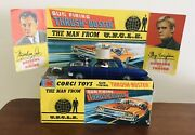 Corgi 497 Original Man From Uncle Blue Thrush-buster With Waverly Ring And Box