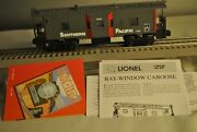 Lionel 6-19779 Southern Pacific Bay Window Caboose Sp Rd 1908 Illuminated