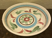 """Vintage Robinson Ransbottom Pottery Rrp """"rustic Ware"""" Large Bowl Roseville Ohio"""