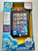 Leap Frog Blues Clues Really Smart Handy Dandy Notebook New