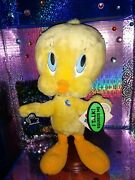 '1997 Applause - Looney Tunes - Talking Tweety Bird 15 Plush With Tags
