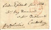 2nd Baronet Sir George Sinclair Signed Free Frank Dated 1836 Todd Mueller Coa