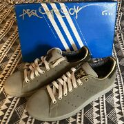 Signed Aesop Rock Adidas Stan Smith Shoes Size 8.5 Mens Rare Upper Playground