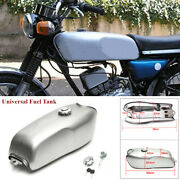 9l/2.4gal Universal Modified Vintage Motorcycle Cafe Racer Gas Fuel Tank Parts