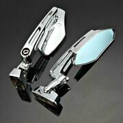 Cnc Motocycle Rearview Side Mirrors For Kawasaki 250 500 Zx6 Zx7 Zx9 Zx10 Zx12