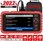 2021 Launch X431 Crp129x Obd2 Scanner Abs Srs Engine Diagnostic Tool Code Reader
