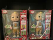 Cocomelon Deluxe Interactive Jj Doll Feed Dress Sing With Me Brand New Fast Ship