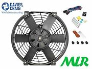 Davies Craig 16 Inch Electric Radiator / Engine Cooling Fan And Fitting Kit Xt