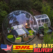 5m Dia Inflatable Bubble House Outdoor Bubble Tent For Camping Pvc Tree Eco Dome