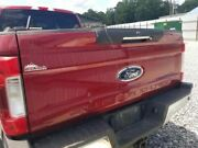 17 Ford F250 Super Duty Complete Oem Tailgate Assembly With Camera And Step Red