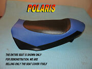 Polaris Switchback 2006-09 600 800 900 new Seat Cover Switch Back Blue 782b