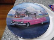 1959 Pink Cadillac Fab Cars Of The Fifties Plate 4 Car George Angelini
