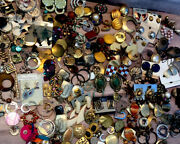 Jewlery Lot Costume Earrings Pendants Natural Stone And More Vintage Mcm