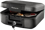 Sentrysafe Chw20221 Fireproof Box And Waterproof Box With Key Lock 0.28 Cubic Fe