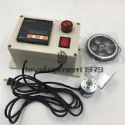 300ppr Rotary Encoder Wheel Roll Digital Electronic Length Measure Meter Counter