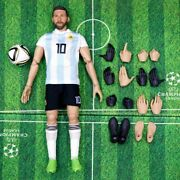 Lionel Messi Cool Action Figure Soccer Football Figurine 30cm Argentina 2021 New