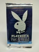 2001 Playboy Wet Andwild Adult Trading Cards Sealed / Unopened Pack Titcards.com