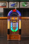 Crosley Digital Led Jukebox With Bluetooth - Color Changing Cd Am/fm With Stand